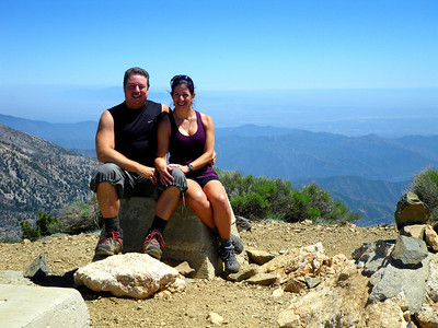 Father's Day Weekend: Mt Islip Hike, Angeles Crest Highway San Gabriel Mountains CA June 19, 2010
