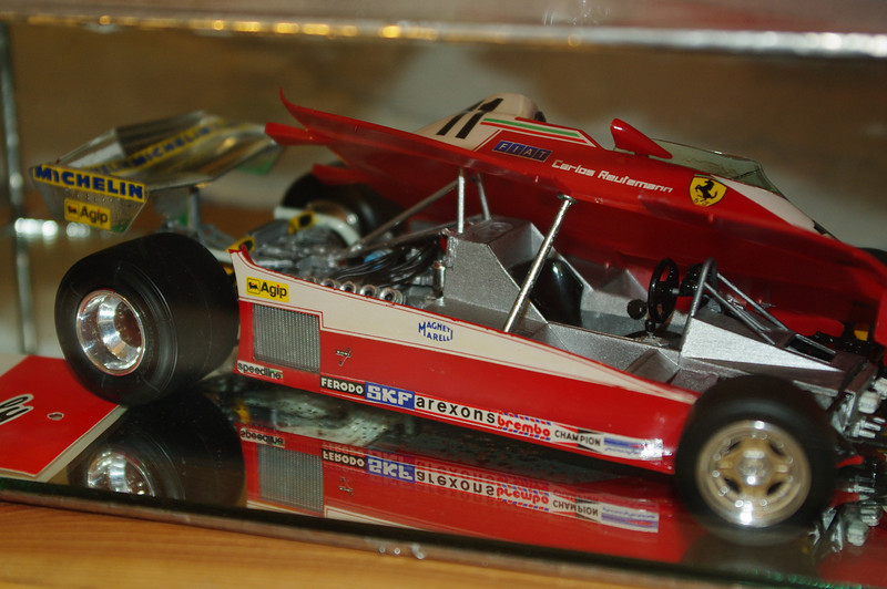 1/20 scale Ferrari 312T3.  First place winner (by age group) at 1983 Boise Roadster Show