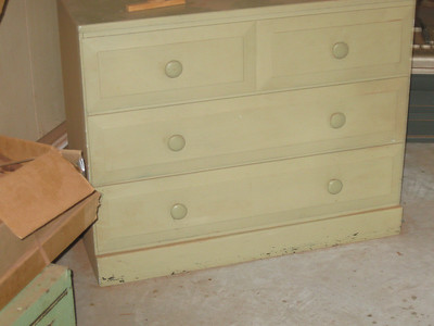 Dresser in workshop