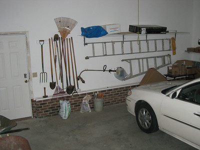 Some of the gardening tools