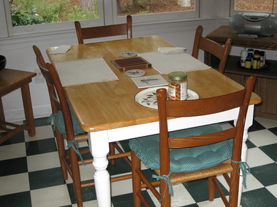 Kitchen table and three chairs