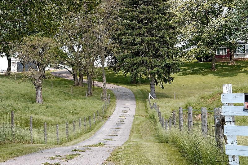 Original photo of cool farm near Xenia Ohio.