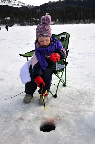 VM (vossamesterskap) i isfiske 2010, på Vangsisen.