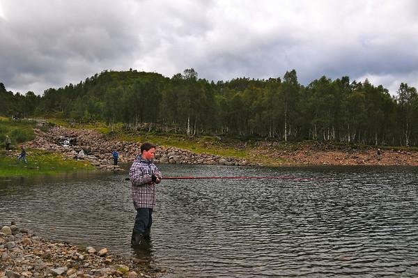 """Frå """"Fiskesommer"""" i Hamlagrøvatnet. arr. av VJF"""