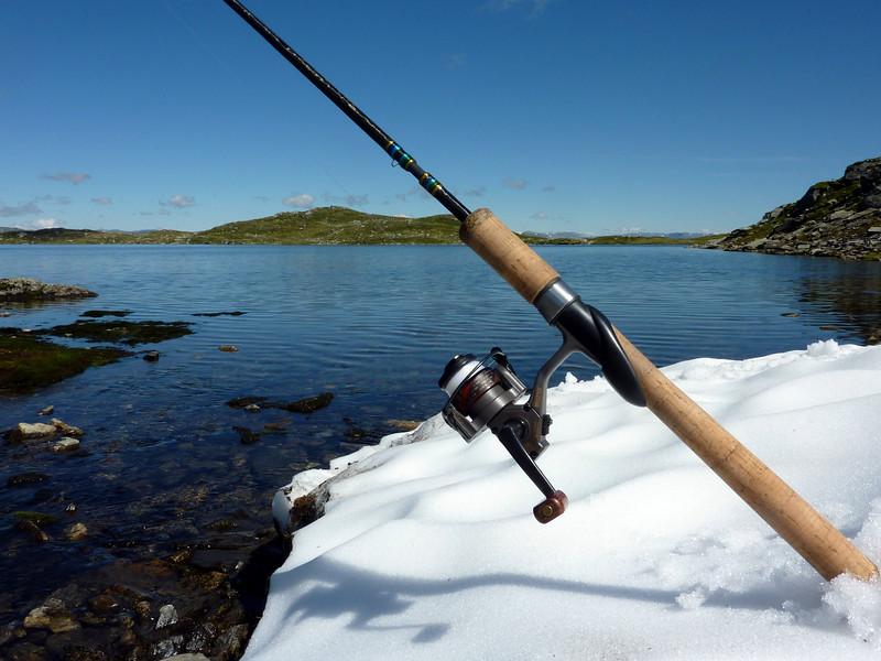Fjelltur med innlagt fiske..14.07.2010