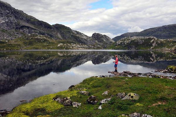 Fisketur i Fuglefjell...25.07.2010