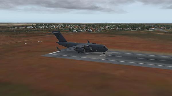 Rainy Departure at YNTN