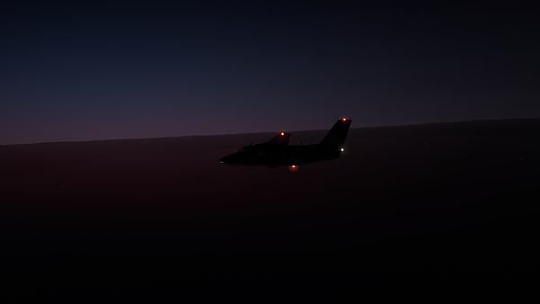 Sun gently rises
