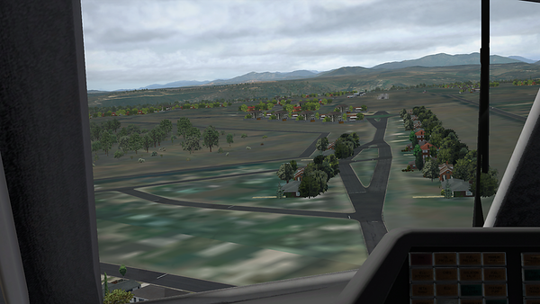 Airfield ahead!