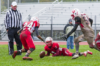 Driving rain and wind caused havoc Saturday as the Hoosac Valley Hurricanes hosted the Commerce Red Raiders.
