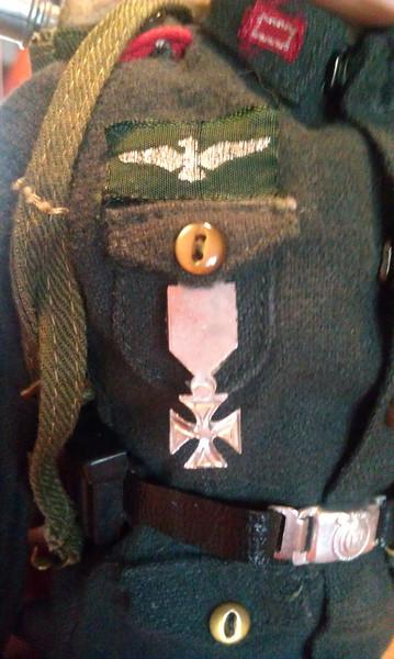 german medal back