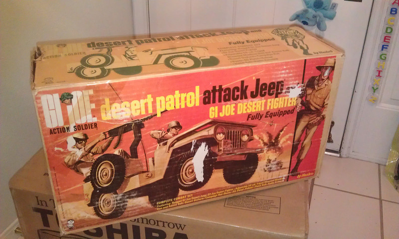 dpj box, traded towards 1969 Adventurer box, November 2012