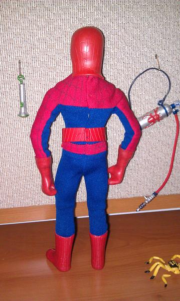 spiderman back