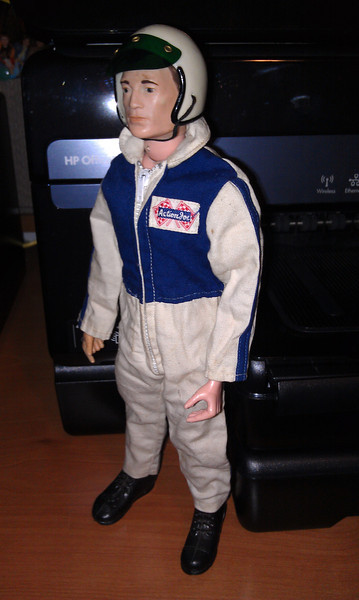 race car driver, sold for $155