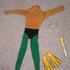 aquaman parts, suit sold August 2013 $22