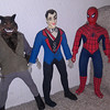 mego monsters, monsters, $50 sold, spidey, $25 sold