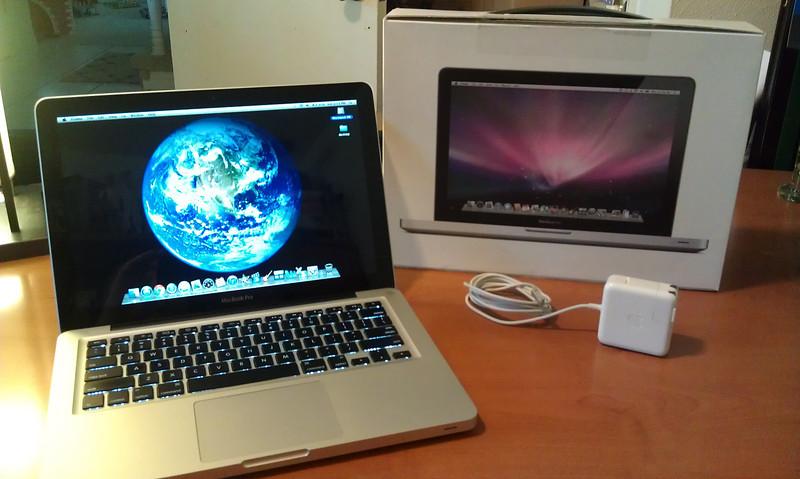 MacBook sold Sept 21 2013, $580