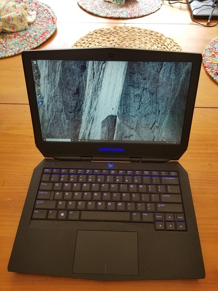 Alienware 13, sold eBay $545 6/16/20