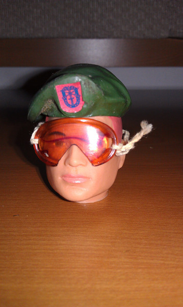 green beret tan goggles($12 sold)