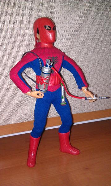 spiderman pose 2