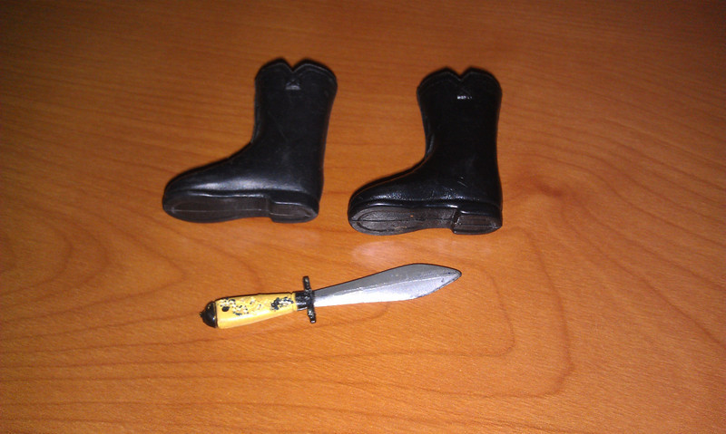 action boy knife, Sold March 2013 $40