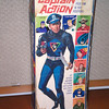 captain action 1966 box, Sold August 2013 $25