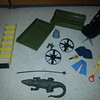 Sold: Gator, $15, Ladder, $10, clip, $10, spinners, $20, scuba $12