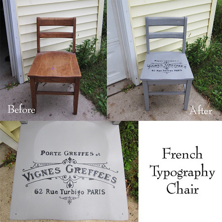 French Winemaker Chair