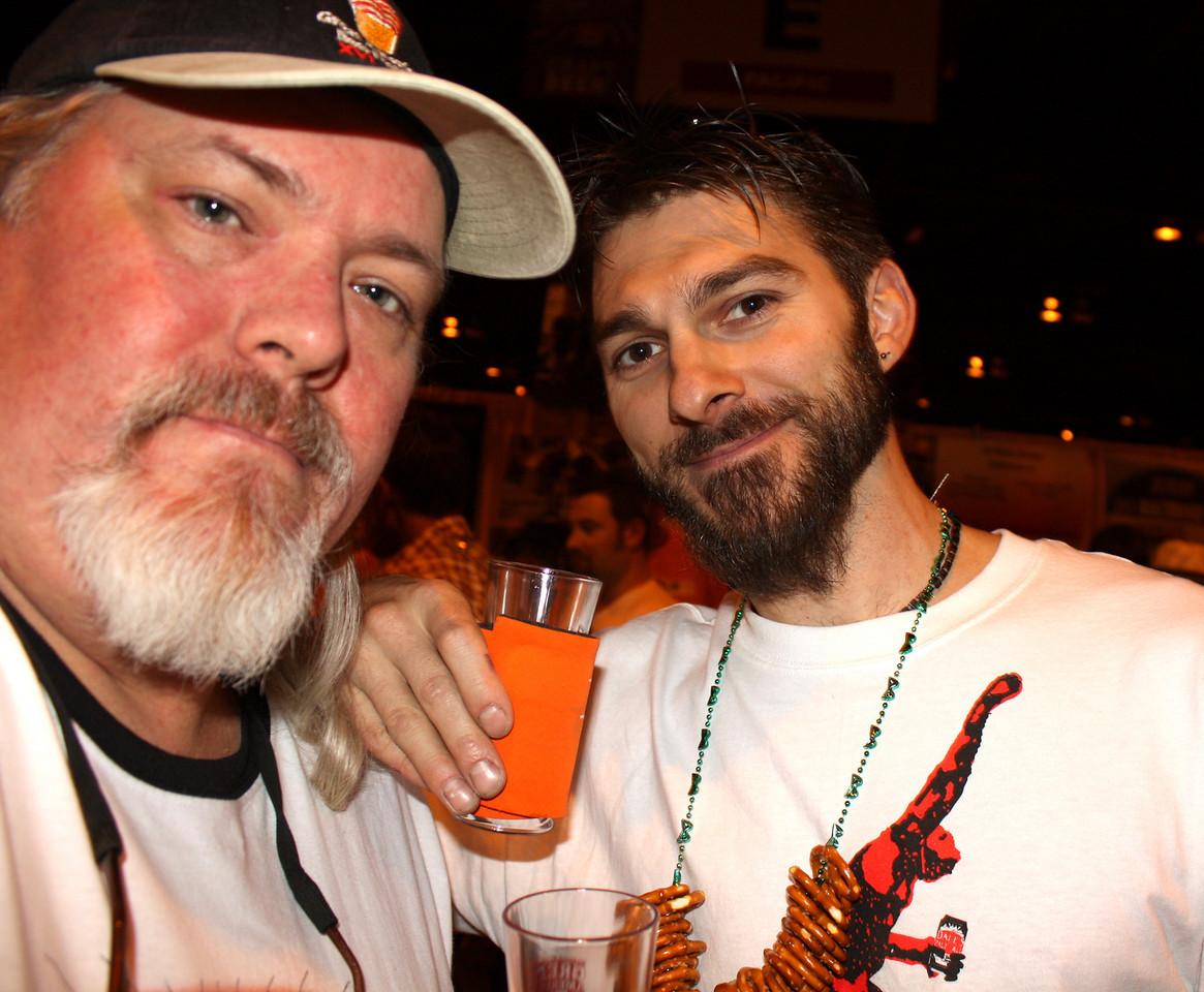 Beer buds.  Good time!