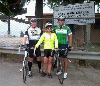 GMR - Glendora Mountain Road Hill Climb & AMGEN Pro Cycle Route, Glendora CA May 5, 2013