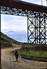 People: Patty Rose, another cyclist<br /> Subject: bridge<br /> Place: Golden Gate<br /> Activity: GPP ride SF to Marin<br /> Comments: I think that is Patty Rose, very active rider, see more later<br /> 4*Sun, Mar 28, 1971