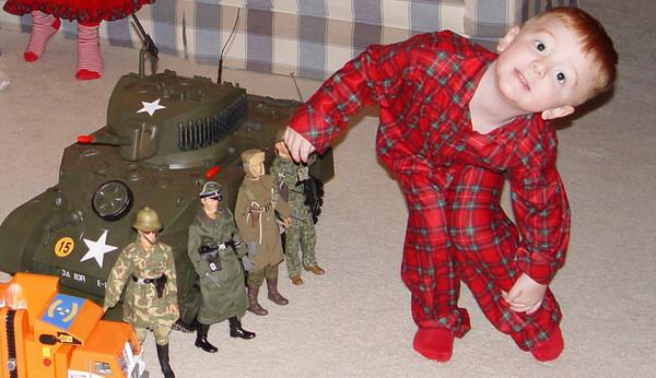 Brady's M5 tank on Christmas 2005