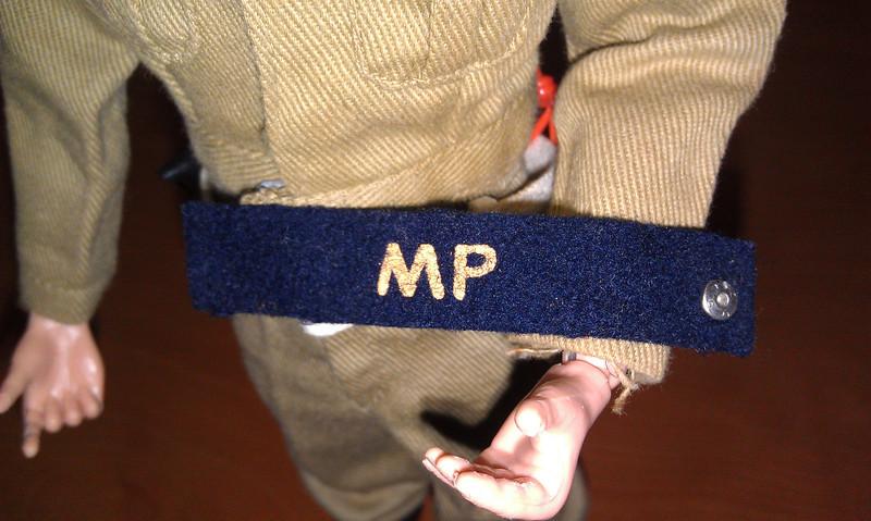Tan MP snap armband