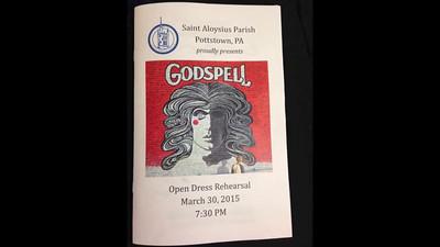 Godspell rehearsals