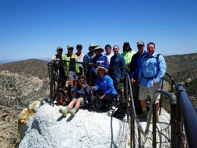 Group Hike to Devil's Punchbowl & Devil's Chair, Pearblossom CA May 1, 2011