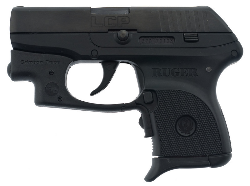 Ruger LCP - .380 Auto with Crimson Trace laser.