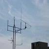 The FM tower plus 1296 MHz. New vertical antennas will be going up.