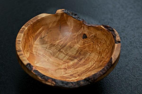 Lite skål i renut av bjørk ca 15-17 cm diameter