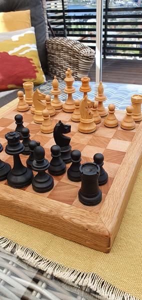 Sjakkbrett handlaga
