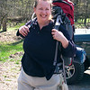Harpers Ferry Hike: Amy joins the hike as Joe and I leave.