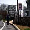Harpers Ferry Hike: Joe approaches Old South Mountain Inn. The end of the trail for both Joe and Shawn