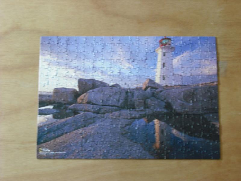 Peggy's Cove Lighthouse, Nova Scotia, Canada