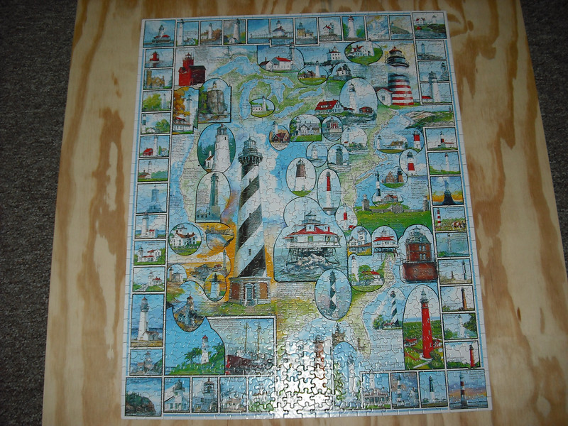 American Lighthouses--a very difficult puzzle to put together