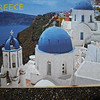 Santorini scene.  We visited here three times while cruising.