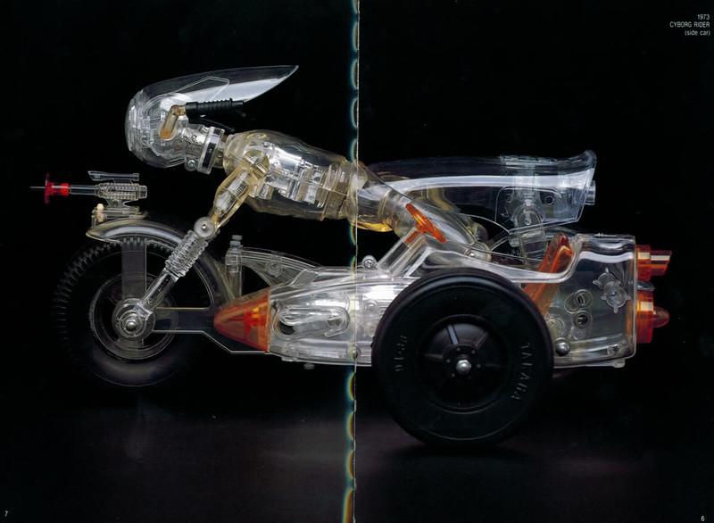 1973 CYBORG RIDER Motorcycle w/side car)