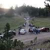 <b><i>GOLD MOUNTAIN MINE PRESERVATION</i> Four miles northwest of Hill City September 10, 2011</b>  This was a nearly perfect evening for the final <i>Moon Walk</i> of 2011.  A few of our group had visited the old mine on a <i>Moon Walk</i> a few years ago. It was a treat, they said, to be able to see the significant amount of work that's been done at the old mine, which was closed down in the early 1940's.