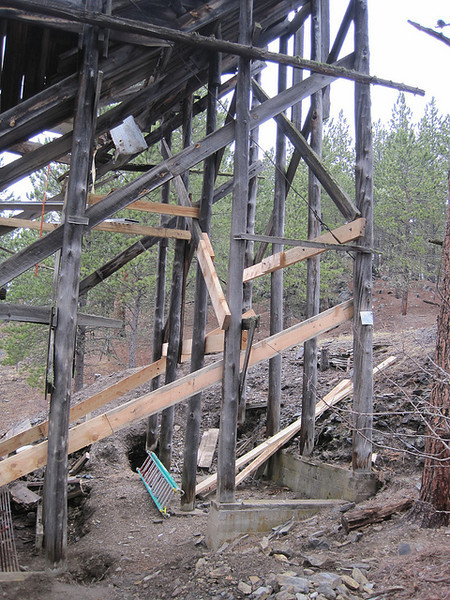 Time and Mother Nature had taken their toll on the mill structure, so the restoration project appears to have come along just in time!