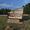 "<b><i>USFS MULE PACK STRING</i> Tepee Work Center - BHNF August 13, 2011</b>   The Black Hills National Forest ""Tepee Work Center"" is located about 26 miles west of Custer on the south side of U.S. 16.  This program was designed to share the history of pack mules in the Forest Service.  It also demonstrated the skills and abilities of the USFS Region 2 mule pack string in moving equipment and materials to the back country for resource work."