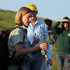 There were, however, a few brief stops along the way, and Jill Larson took time to share information about some of the plant life found in this area.<br /> <br /> Although she's originally from Washington state, Larson has lived most of the last decade in New Mexico, Wyoming, and South Dakota.