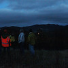 No full moon was to be seen during this escursion; in fact, we just made it down the hill when moderate rains again pushed in to the Horse Creek vicinity.